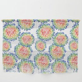 Color My Swirled Wall Hanging