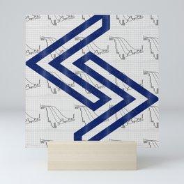 Jera Rune for trader Mini Art Print