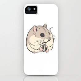 Hamster 1 iPhone Case