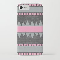 aztec iPhone & iPod Cases featuring Aztec by her art