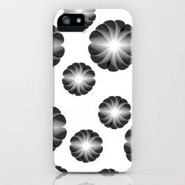 Geom Fleurs iPhone Case