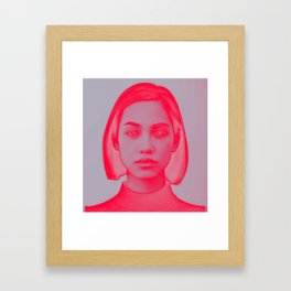 Kiko remix Framed Art Print