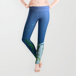 A moonless night Leggings