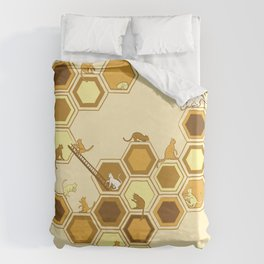 Queen of the Catacombs Duvet Cover