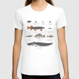 Common Water Animals T-shirt