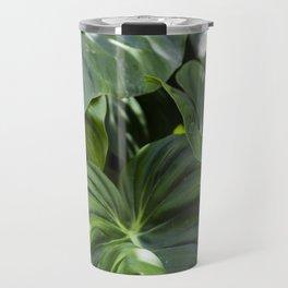 Philodendron Gloriosum Travel Mug