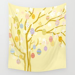Easter Tree Wall Tapestry