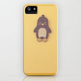 Penguin Key chain iPhone Case