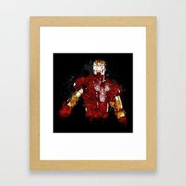 Iron Flux Framed Art Print