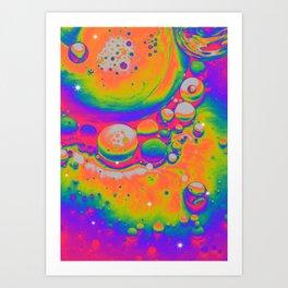 AROUND YOU Art Print