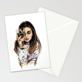 Wednesday Stationery Cards