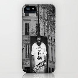 je descends de Darwin iPhone Case