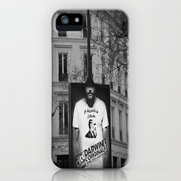 je descends de Darwin iPhone Case