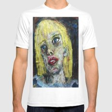 BLANDINA VON WASP Mens Fitted Tee White MEDIUM