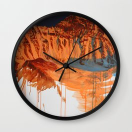 Conversation with a Mountain Wall Clock