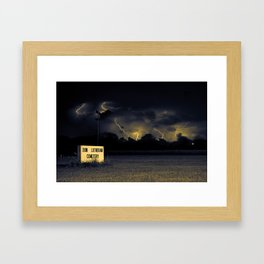 The Storm that Changed Everything Framed Art Print