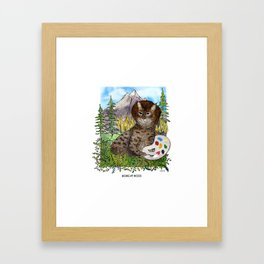 Bobcat Ross Framed Art Print