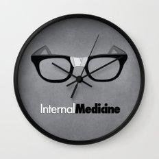 internal medicine Wall Clock