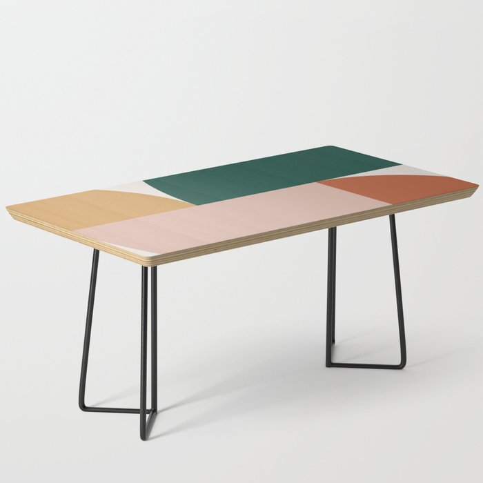Abstract Geometric 11 Coffee Table