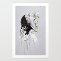 Coiffure Art Print