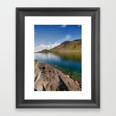 Levers Water Framed Art Print