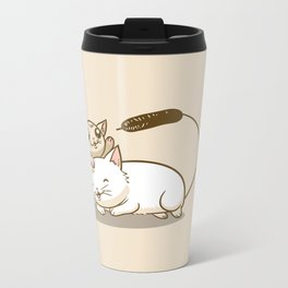 CatTails! Metal Travel Mug
