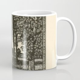 Forest Woodcut Coffee Mug