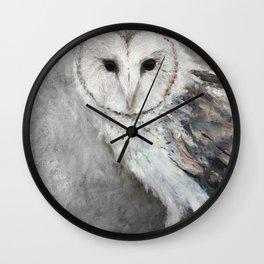 La Chouette-effraie - The Barn Owl Wall Clock