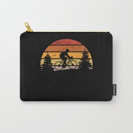 Cyclist Bike Cycling Gift Present Idea Carry-All Pouch