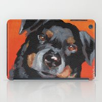 rottweiler iPad Cases featuring Rottweiler by Stanley Arts
