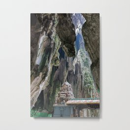 Batu Cave Metal Print
