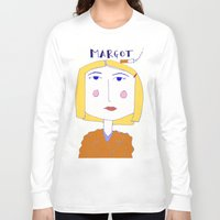 tenenbaum Long Sleeve T-shirts featuring Margot Tenenbaum  by The Found and The Lost