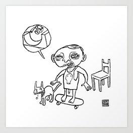 Rampata Art Print