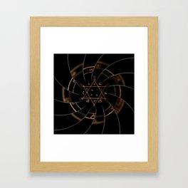sacred magic Framed Art Print