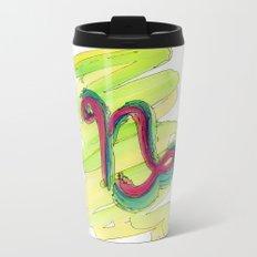 Capricorn Flow Metal Travel Mug