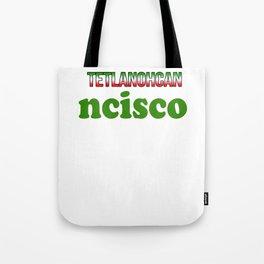 Mexico Shirt Tote Bag