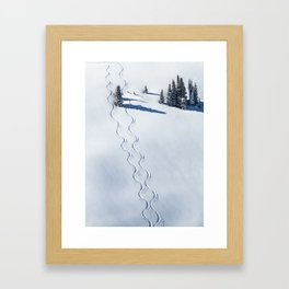 The Art of Skiing Framed Art Print