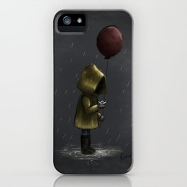 a storm blew me away iPhone Case
