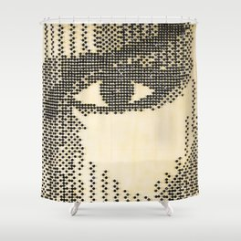 """Grace """"Natural Glow"""" Shower Curtain"""