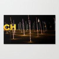 christ Canvas Prints featuring CHRIST XXI by Sébastien BOUVIER