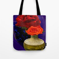 tequila Tote Bags featuring Tequila Rose by TexasArt