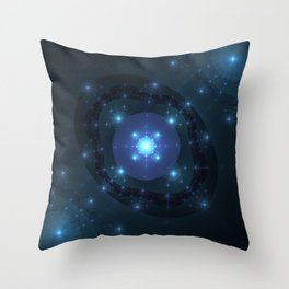 Grand Fireworks Throw Pillow