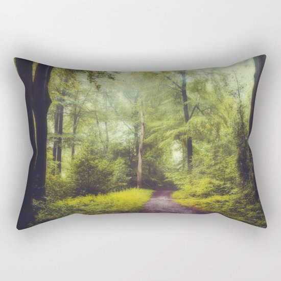 Dreamy Forest Rectangular Pillow
