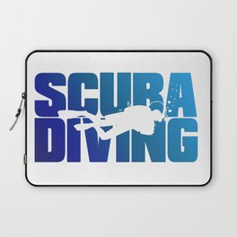 Scuba Diving Laptop Sleeve
