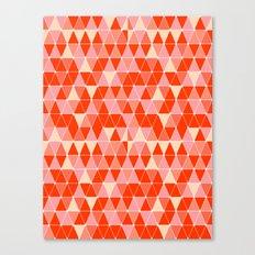Prism - Coral Canvas Print
