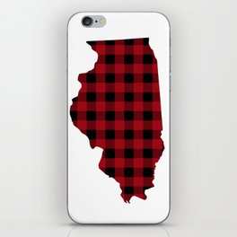 Illinois - Buffalo Plaid iPhone Skin