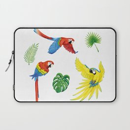 Tropical Feathers Laptop Sleeve