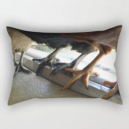 Holding Hands Rectangular Pillow