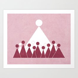 As Sisters in Zion Art Print
