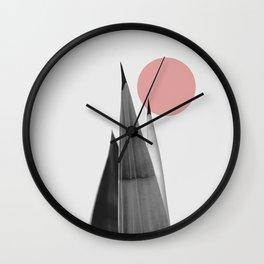 A tense quiete Wall Clock
